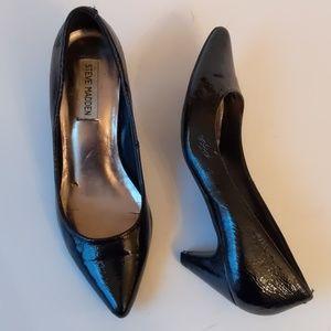 Steve Madden black heels-sz 7